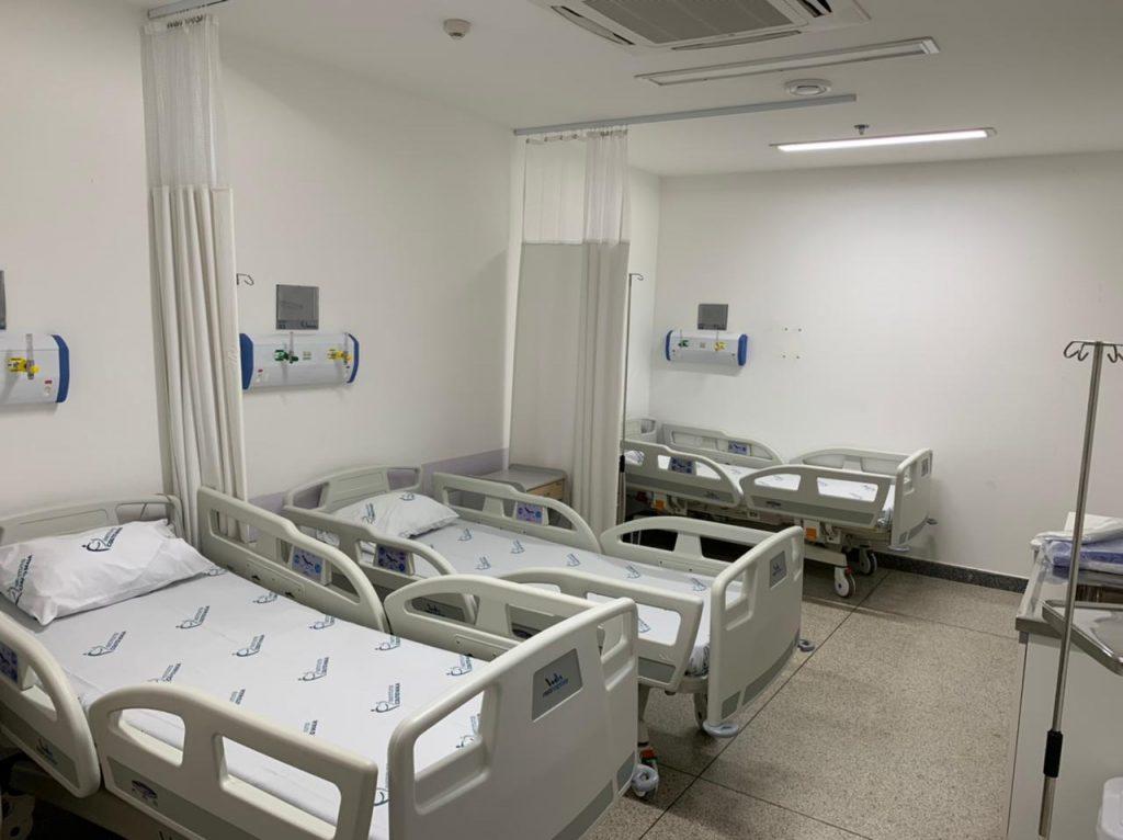 Ambulatório do ICOM é transformado em enfermaria com 20 leitos para Covid-19