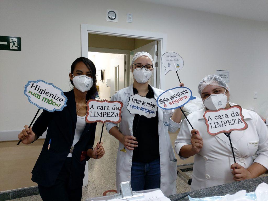 ICOM reforça treinamento das equipes no combate às infecções hospitalares