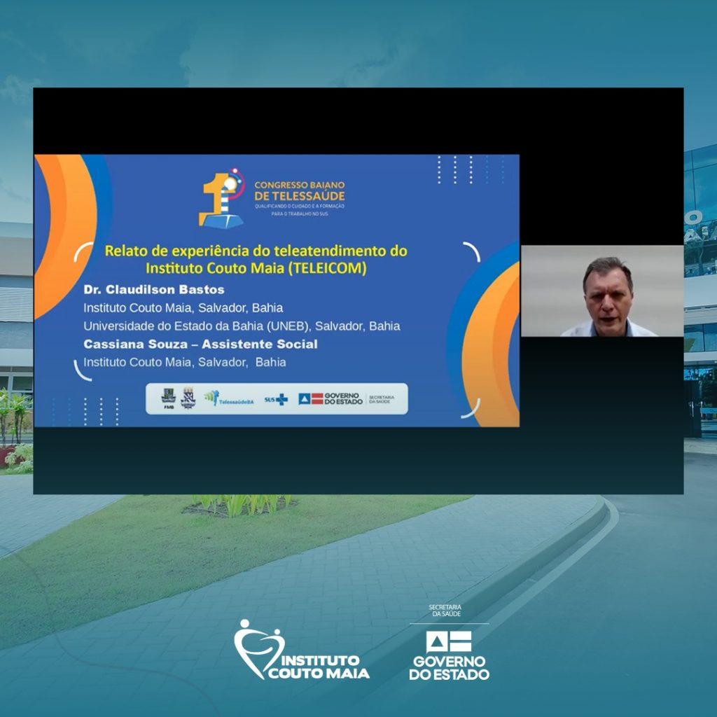 ICOM participa do Primeiro Congresso de Telessaúde com case do TeleICOM